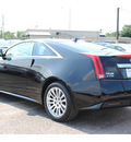cadillac cts 2012 black coupe 3 6l gasoline 6 cylinders rear wheel drive automatic 77074