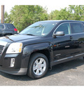 gmc terrain 2012 black suv sle 1 flex fuel 4 cylinders front wheel drive automatic 77074