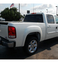 gmc sierra 1500 2012 white sle flex fuel 8 cylinders 2 wheel drive automatic 77074