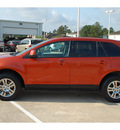 ford edge 2007 orange suv sel plus gasoline 6 cylinders front wheel drive automatic with overdrive 77375