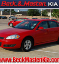 chevrolet impala 2011 red sedan lt fleet flex fuel 6 cylinders front wheel drive automatic with overdrive 77375