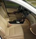 honda accord 2010 white sedan gasoline 6 cylinders front wheel drive 5 speed automatic 76240