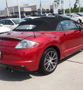 mitsubishi eclipse spyder 2011 orange gs gasoline 4 cylinders front wheel drive shiftable automatic 77090