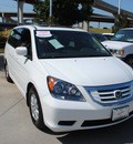 honda odyssey 2010 white van ex l gasoline 6 cylinders front wheel drive automatic 75034