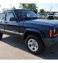 jeep cherokee 2001 blue suv sport gasoline 6 cylinders rear wheel drive automatic with overdrive 77539