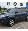 honda pilot 2011 blue suv ex l gasoline 6 cylinders front wheel drive automatic 77566