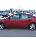ford fusion 2012 red candy tinted sedan se gasoline 4 cylinders front wheel drive automatic 77375