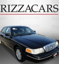 ford crown victoria 2003 black sedan lx gasoline 8 cylinders sohc rear wheel drive automatic with overdrive 60546