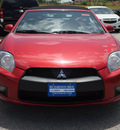 mitsubishi eclipse spyder 2011 red gs sport gasoline 4 cylinders front wheel drive automatic 78114