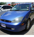 ford focus 2003 dk  blue hatchback zx5 gasoline 4 cylinders front wheel drive automatic 78748