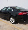 jaguar xf 2012 black sedan gasoline 8 cylinders rear wheel drive automatic 77090