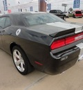 dodge challenger 2012 black coupe srt8 392 gasoline v8 rear wheel drive automatic 77375