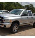 dodge ram pickup 2500 2003 silver slt diesel diesel 4 wheel drive 4 speed with overdrive 76520