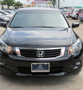 honda accord 2010 black sedan ex l v6 gasoline 6 cylinders front wheel drive automatic with overdrive 77074