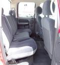 dodge ram pickup 1500 2005 red pickup truck slt gasoline 8 cylinders rear wheel drive automatic 77388