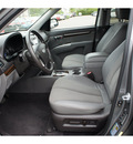 hyundai santa fe 2010 dk  gray suv se gasoline 6 cylinders front wheel drive automatic with overdrive 08902