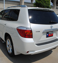 toyota highlander 2009 white suv limited 6 cylinders automatic 75034