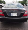 mercedes benz e class 2007 black sedan e350 gasoline 6 cylinders rear wheel drive shiftable automatic 46168