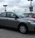 nissan versa 2010 dk  gray sedan gasoline 4 cylinders front wheel drive automatic with overdrive 76011