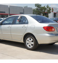 toyota corolla 2004 gray sedan le gasoline 4 cylinders front wheel drive automatic with overdrive 78232