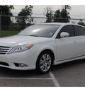 toyota avalon 2011 pearl white sedan gasoline 6 cylinders front wheel drive automatic 77338