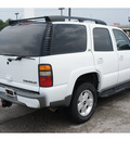 chevrolet tahoe 2004 white suv z71 flex fuel 8 cylinders 4 wheel drive automatic 76543