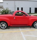 chevrolet ssr 2005 red pickup truck ls gasoline 8 cylinders rear wheel drive manual 77521