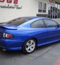 pontiac gto 2006 blue coupe gasoline 8 cylinders rear wheel drive standard 79925