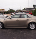 cadillac cts 2011 lt  brown sedan 3 0l performance gasoline 6 cylinders rear wheel drive shiftable automatic 77074