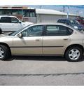 chevrolet impala 2004 tan sedan gasoline 6 cylinders front wheel drive automatic 78654