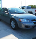 dodge stratus 2006 green sedan sxt gasoline 4 cylinders front wheel drive automatic 76234