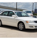 toyota avalon 2002 white sedan xls gasoline 6 cylinders front wheel drive automatic with overdrive 78232