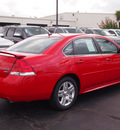 chevrolet impala 2012 red sedan lt flex fuel 6 cylinders front wheel drive automatic 77581