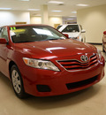 toyota camry 2011 red sedan le gasoline 4 cylinders front wheel drive automatic 27707