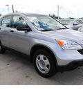 honda cr v 2008 silver suv lx gasoline 4 cylinders front wheel drive automatic with overdrive 77598