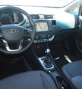 kia rio 2012 black sedan sx gasoline 4 cylinders front wheel drive automatic 75150