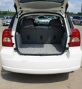 dodge caliber 2007 white hatchback 4 cylinders automatic 75110