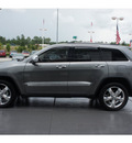 jeep grand cherokee 2011 gray suv overland summit gasoline 8 cylinders 2 wheel drive automatic 77338
