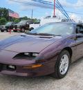 chevrolet camaro 1995 purple hatchback z28 gasoline v8 rear wheel drive automatic 77379