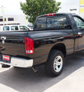 dodge ram pickup 1500 2005 black pickup truck st gasoline 6 cylinders rear wheel drive automatic 77388