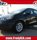 kia rio 2013 black sedan ex gasoline 4 cylinders front wheel drive automatic 77034