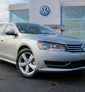 volkswagen passat 2012 silver sedan se pzev gasoline 5 cylinders front wheel drive 6 speed automatic 46410