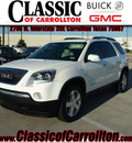 gmc acadia 2007 suv slt 2 gasoline 6 cylinders front wheel drive shiftable automatic 75007