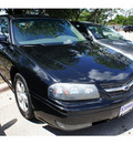 chevrolet impala 2004 black sedan ls gasoline 6 cylinders front wheel drive automatic 78748