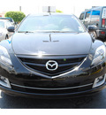 mazda mazda6i 2011 black sedan gasoline 4 cylinders front wheel drive automatic with overdrive 77581