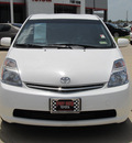 toyota prius 2009 white hatchback hybrid 4 cylinders front wheel drive automatic 77469