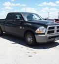 dodge ram pickup 2500 2010 black st diesel 6 cylinders 2 wheel drive automatic 78009