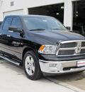 ram ram pickup 1500 2012 black pickup truck slt gasoline 8 cylinders 2 wheel drive 6 speed automatic 77099