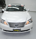 lexus es 350 2010 white sedan gasoline 6 cylinders front wheel drive automatic 91731