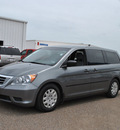 honda odyssey 2009 gray van lx gasoline 6 cylinders front wheel drive 5 speed automatic 78586